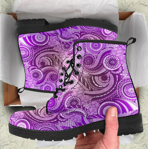 Image of Purple Paisley