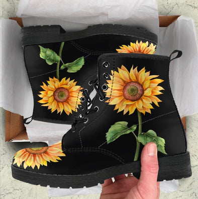 ⚡ 60% OFF! ⚡ Sunflower Handcrafted Boots