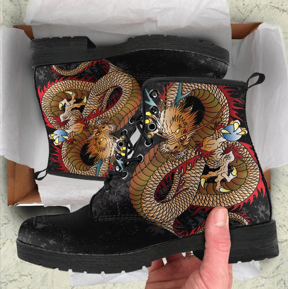 Dragon 1 Handcrafted Boots