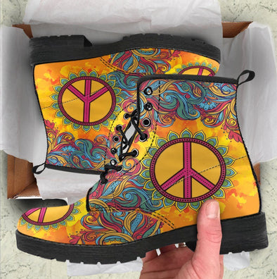 ⚡ 60% OFF! ⚡ Hippie Peace Handcrafted Boots
