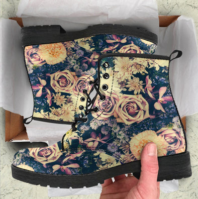 Floral Handcrafted Boots