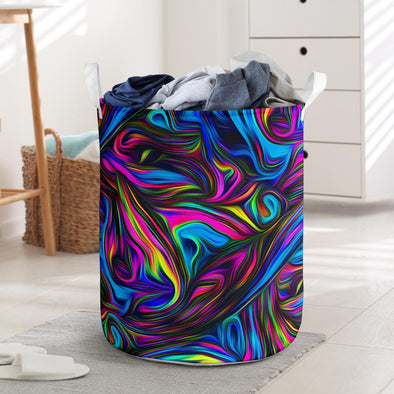Fractal Art 1 Laundry Basket