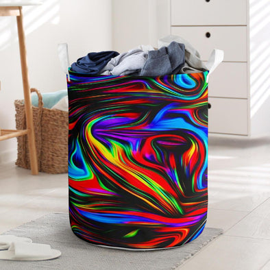 Fractal Art 2 Laundry Basket