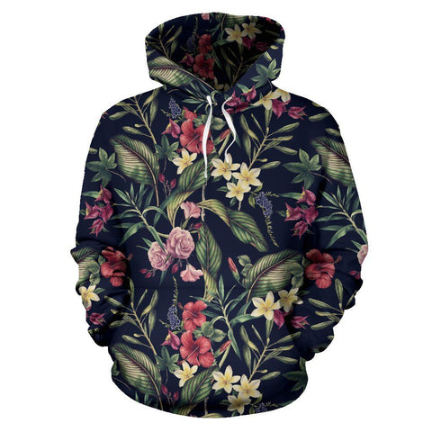 Image of Tropical Flower Hoodie