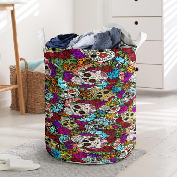 Skull Candy Laundry Basket