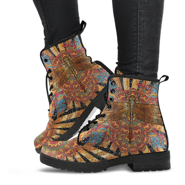 Hippie Dragonfly Boots