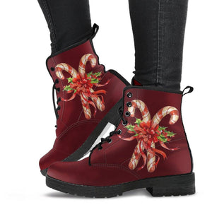 Candy Cane Boots