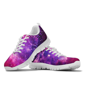 Aztec Galaxy Handcrafted Sneakers