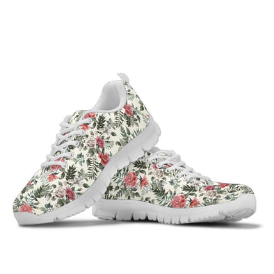 Floral Print Handcrafted Sneakers