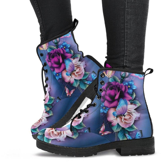 BUTTERFLY FLORAL BOOTS