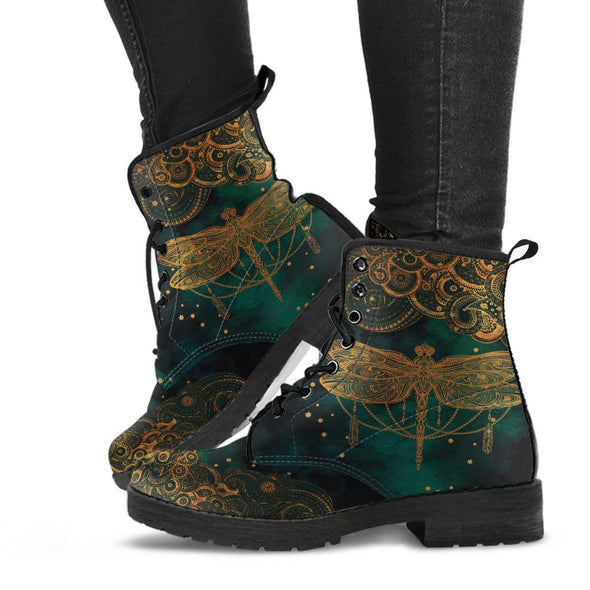 Paisley Dragonfly Boots