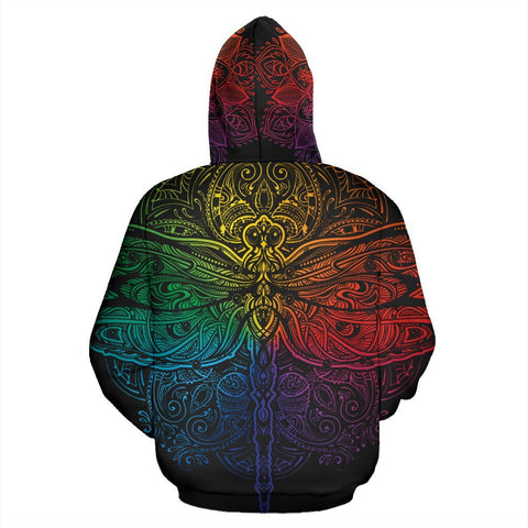 Image of Colorful Dragonfly Hoodie