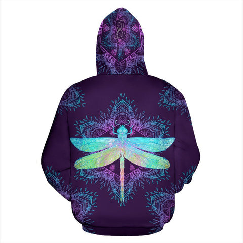 Image of Purple Dragonfly Hoodie