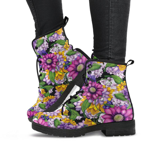 Image of Funky Floral Boots