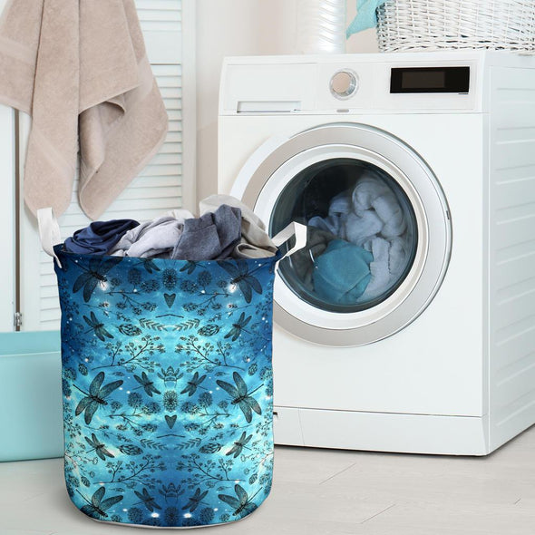 Galaxy Dragonfly Laundry Basket