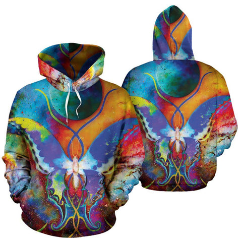 Image of Galaxy Butterfly Hoodie