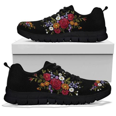 Image of Floral Sneakers