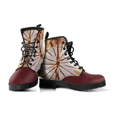 Image of Brown Tie Dye Boots