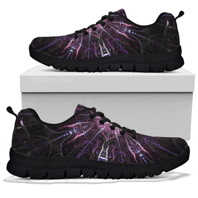 Purple Mandala Handcrafted Sneakers