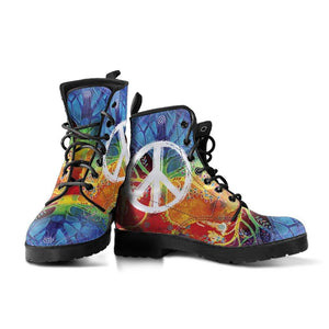 Colorful Peace Boots 2