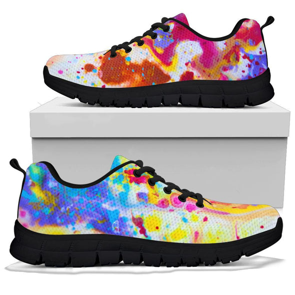 Fluid Art Handcrafted Sneakers