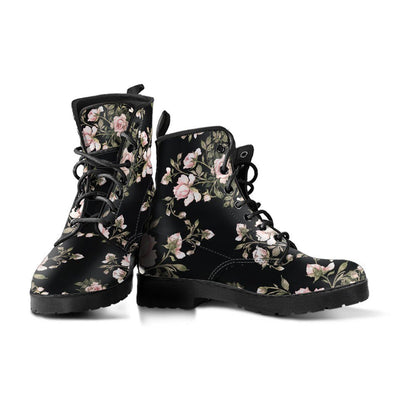 Floral Pattern Boots 3