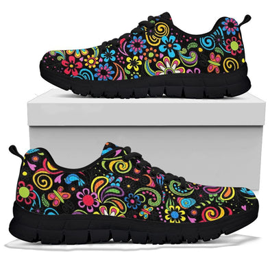 Hippie Flower Sneakers