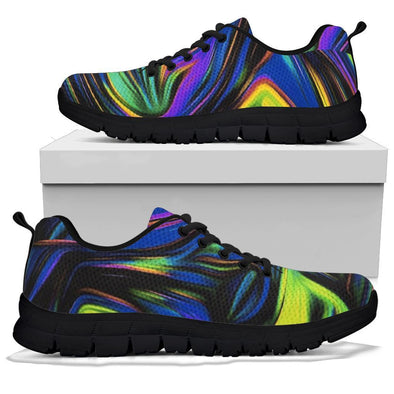LIMITED EDITION Fractal Art Handcrafted Sneakers