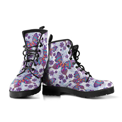 Hippie Butterfly Boots
