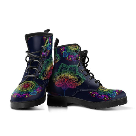 Colorful Flower Boots