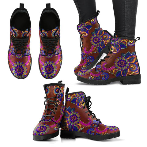 Image of Paisley Henna 2 Boots