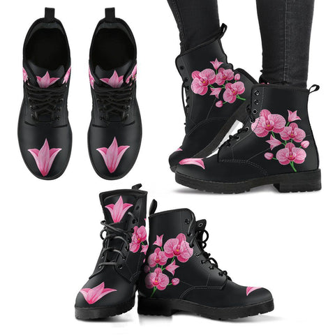 Image of Orchids Flower Boots