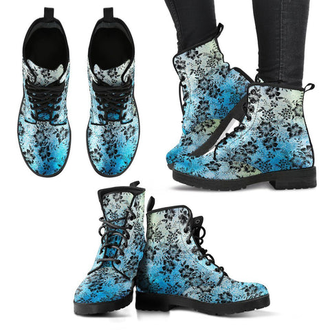 Image of Floral Pattern Boots