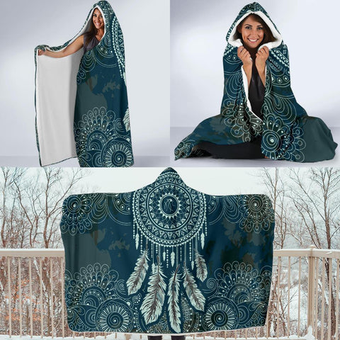Image of Dreamcatcher Hoodie Blanket