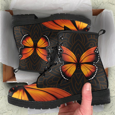 Monarch Butterfly Boots