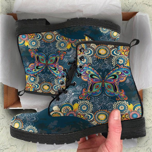 Paisley Butterfly Boots