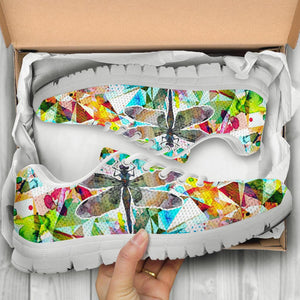 Dragonfly Art Handcrafted Sneakers