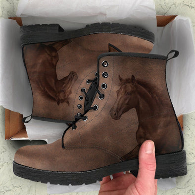 Brown Horse Boots
