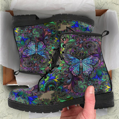 NEW RELEASE PROMO! Paisley Butterfly Handcrafted Boots