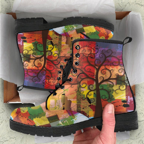 Image of PAINTING TREE OF LIFE BOOTS