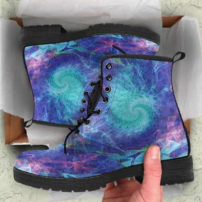 ABSTRACT FRACTAL BOOTS