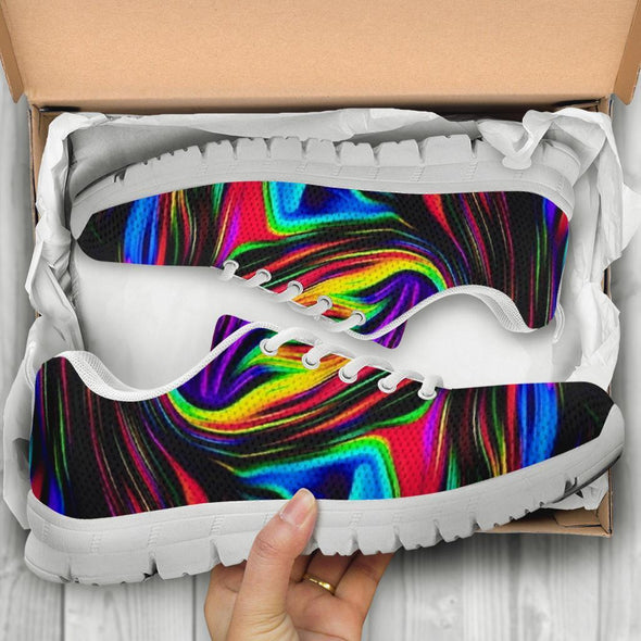 Fractal Art 2 Handcrafted Sneakers