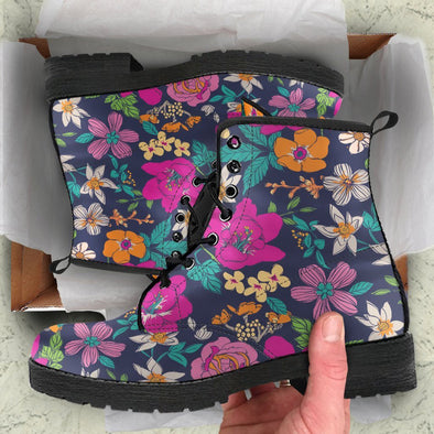 Colorful Floral Boots 2