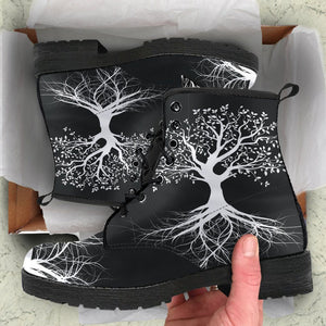 Tree Of Life Handcrafted Boots
