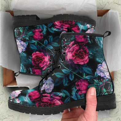 Beautiful Floral Boots