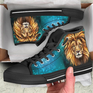 Lion Handcrafted High Tops