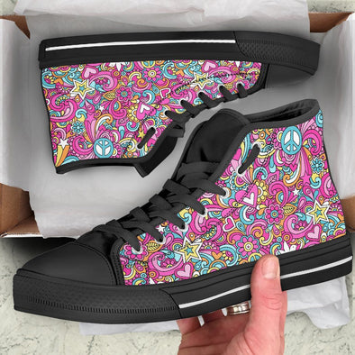 Hippie 2 Handcrafted High Tops