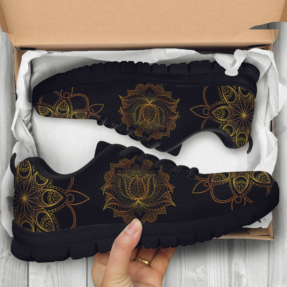 Lotus Of Glory Handcrafted Sneakers