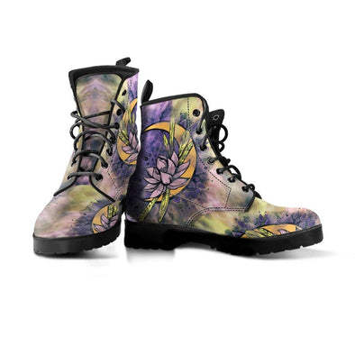 Moon Lotus Handcrafted Boots