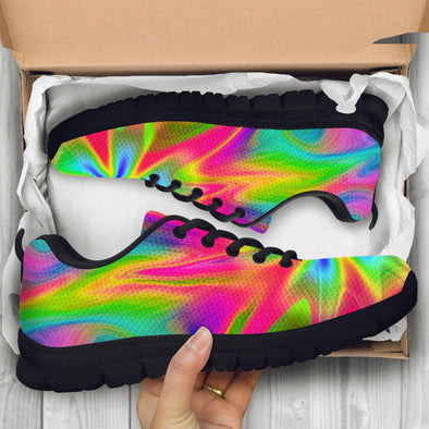 Psychedelic Handcrafted Sneakers
